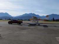 HRX taxiing out for launch, check out the video on our Facebook page!