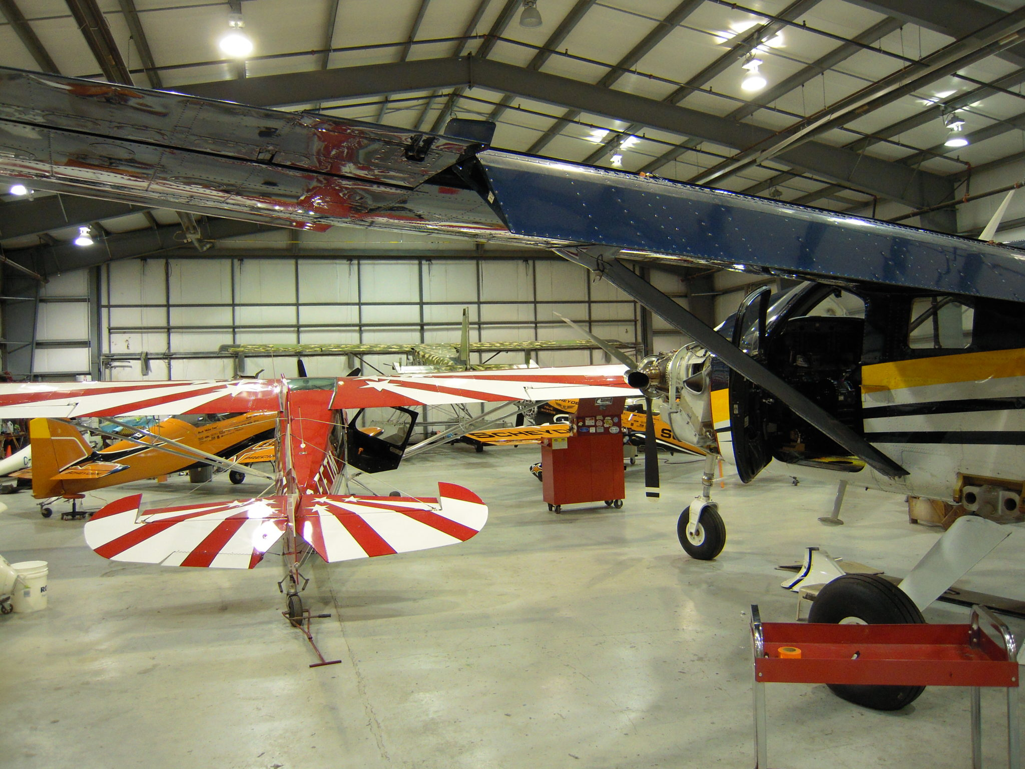 Aircraft Maintenance: Our attention to detail and varied services set us apart.